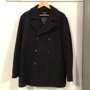 J. Crew Navy Pea Coat Small with Thinsulate Lining